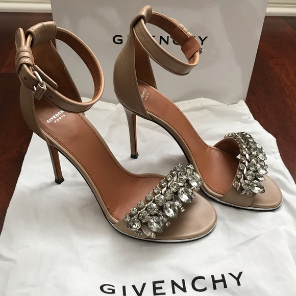Monia High Heeled Leather Givenchy Sandals nmN0v8w